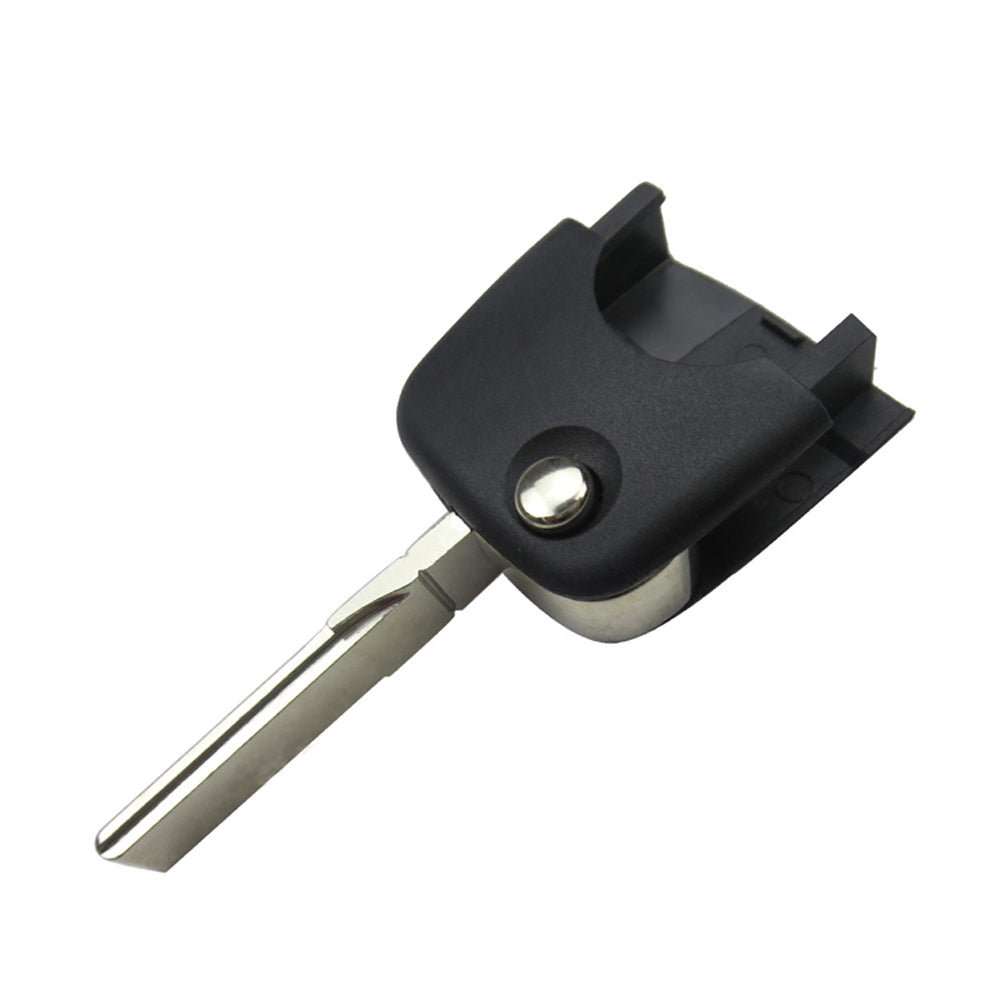 1997 - 2006 Audi Flip Key Shell  Round Head / NON Chip
