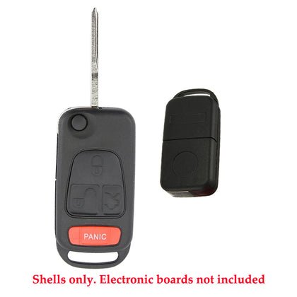 1998 - 2005 Mercedes Benz ML Flip Key Shell 4B