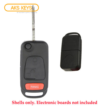 1998 - 2005 Mercedes Benz ML Flip Key Shell
