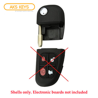 2000 - 2009 Jaguar Flip Key