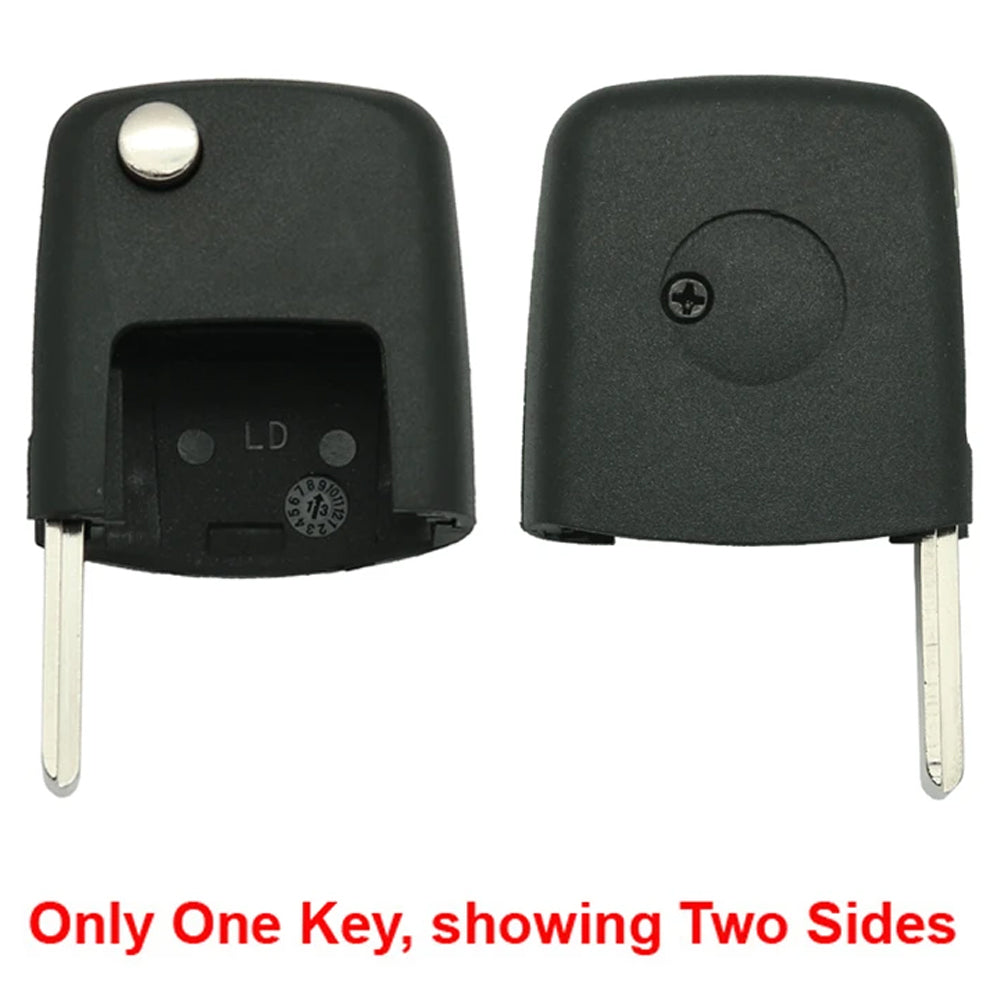 2000 - 2006 VW Flip Key (Square Head) Id 48
