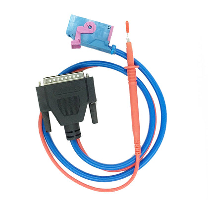 IEA Volkswagen Zed Full Programmer UDS / Canbus Adapter Cable W/ Pogo Pin Probe  C02P