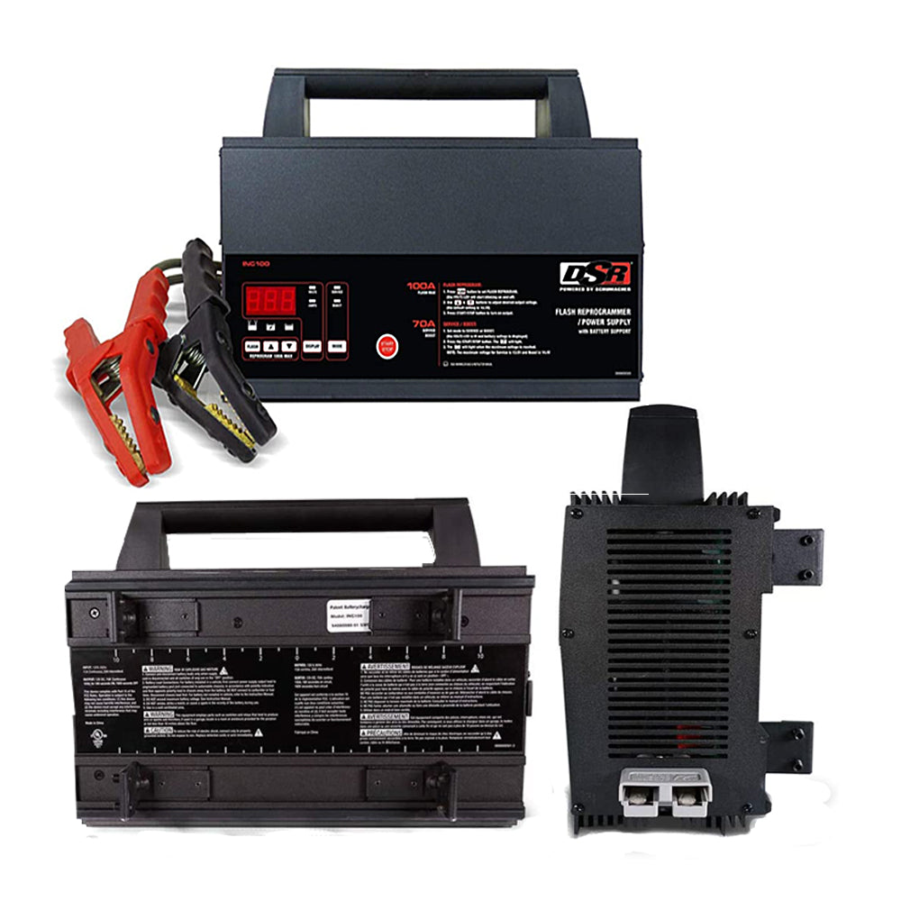 Autel MaxiIM IM608 Pro Key Programming and Diagnostic Tool & DSR ProSeries INC100 100 Amp 12V Battery