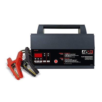 DSR ProSeries INC100 100 Amp 12V Battery Charger Flash Reprogrammer and Power Supply With Battery Support Adjustable Mounting Brackets
