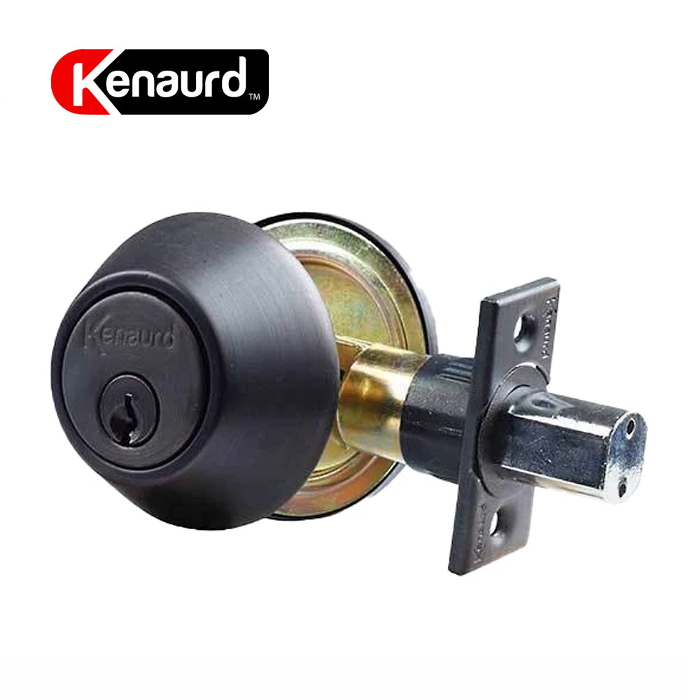 Deadbolt Lock Oil Rubbed Bronze Single Cylinder KDB01-ORB-SC1