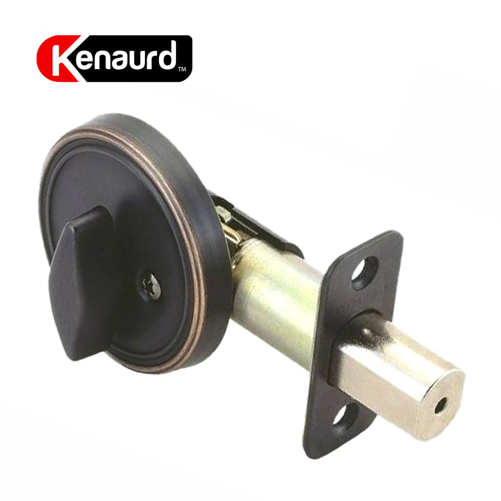 One Sided Deadbolt W/O Cylinder Oil Rubbed Bronze KDB111-ORB-NC