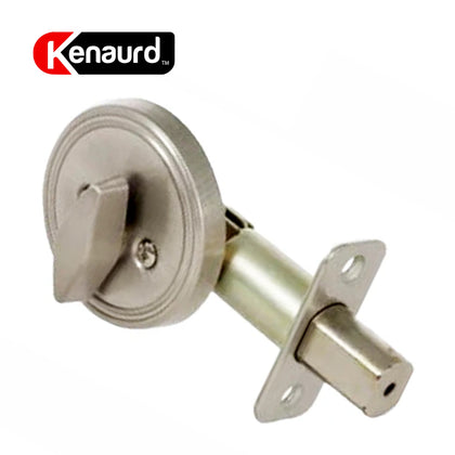 One Sided Deadbolt W/O Cylinder Satin Nickel KDB111-SS-NC