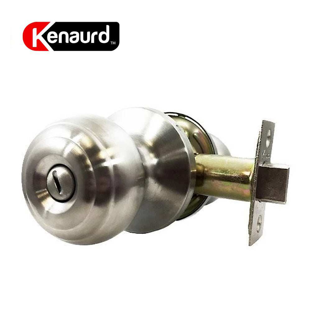 Privacy Knobset Entry Lock Satin Silver KEL01-SS-PR