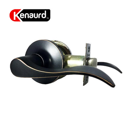 Design #1 Passage Leverset Grade 3 Oil Rubbed Bronze KLE01-ORB-PS