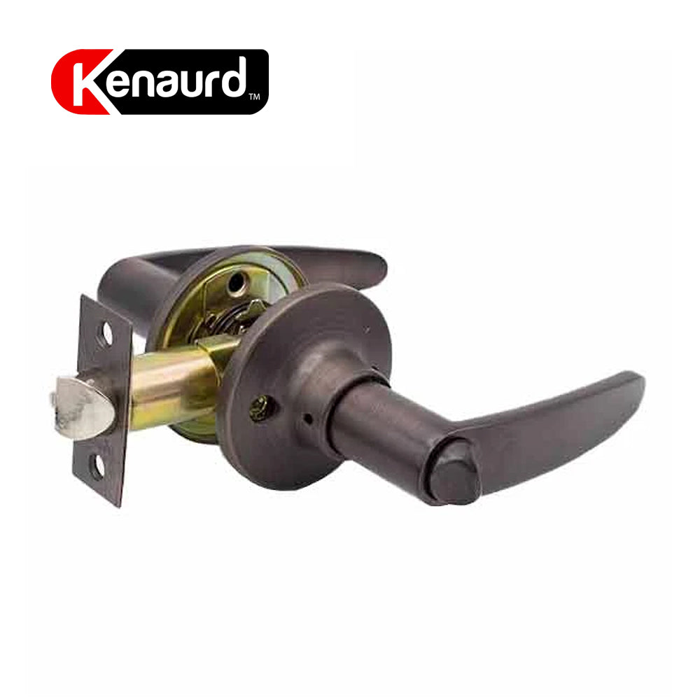 Design #2 Entrance Leverset Grade 3 Oil Rubbed Bronze KLE02-ORB-KW1