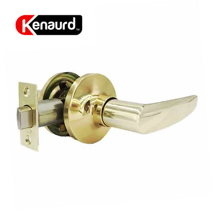 Design #2 Passage Leverset Grade 3 Polished Brass KLE02-PB-PS