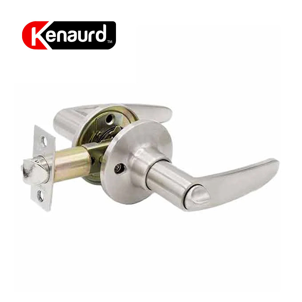 Design #2 Entrance Leverset Grade 3 Satin Nickel KLE02-SN-KW1
