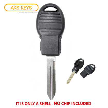 2008 - 2017 Chrysler Dodge Jeep VW Key Shell