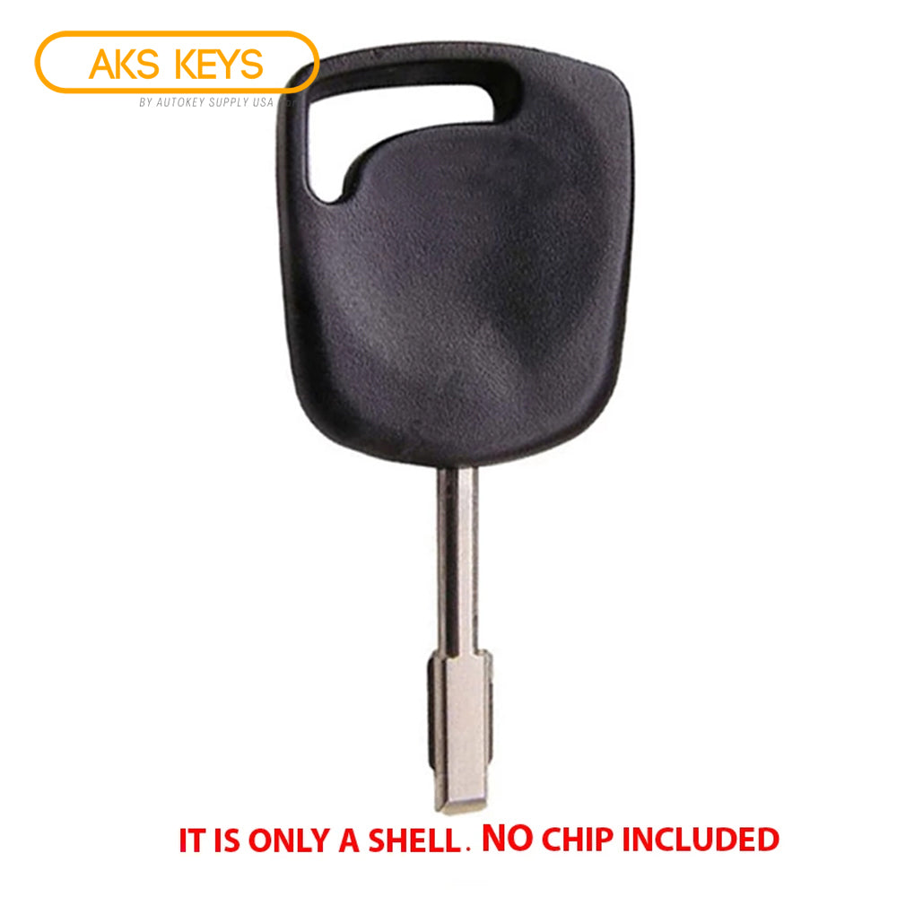 2000 - 2008 Jaguar Ford Transponder Key Shell - FO21T7 -Tibbe