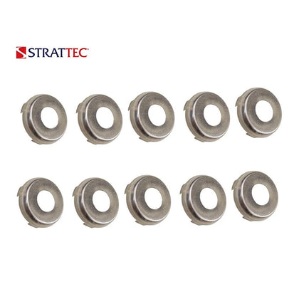 1970 - 2005 Strattec Buick Cadillac Chevrolet Chrysler GMC Nissan Oldsmobile Pontiac Lock Face Cap (Packs of 10) / 320395
