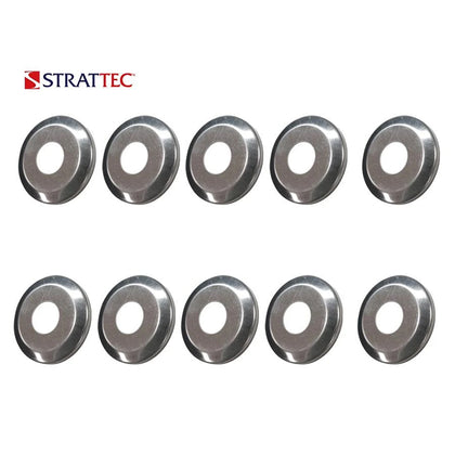 1970 - 2003 - Strattec International Jeep Mitsubishi Lock Face Cap / 320376 (Packs of 10)