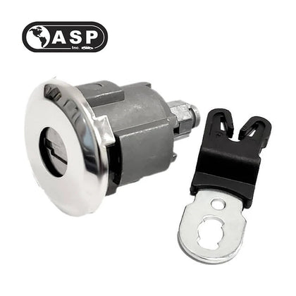 1995 - 2012 ASP Ford   Door Lock Service Pack 8 Cut W/O Kit Chrome Cap D-42-261