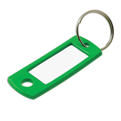 ID TAG W/RING ASST 12/CLAMSHELL