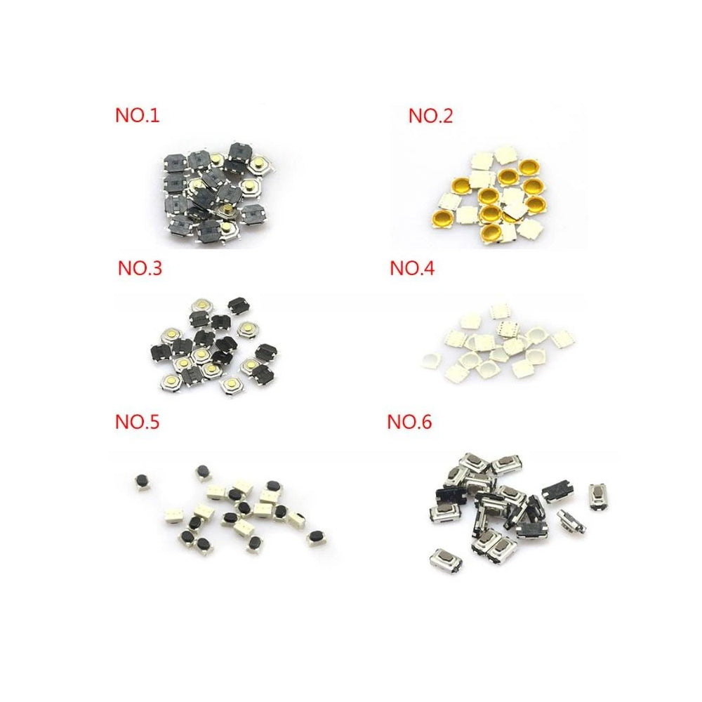 Automobile remote PCB board button (21 kinds ,ervey kinds of 20pcs)