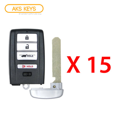2014 - 2020 Acura Smart Key Hatch 4B FCC# KR5V1X (15 Pack)