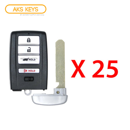 2014 - 2020 Acura Smart Key Hatch 4B FCC# KR5V1X (25 Pack)