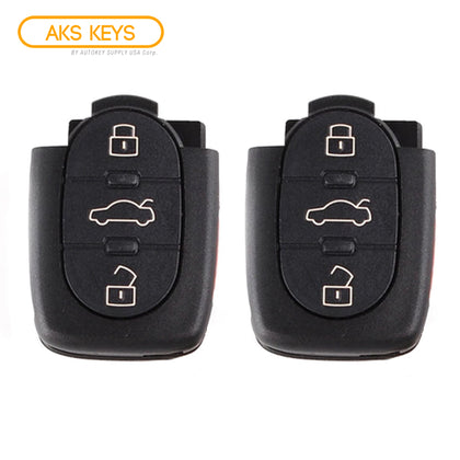 1997 - 2005 Audi Remote Control Part #: 4D0 837 231 E (2 Pack)