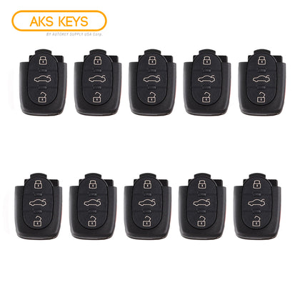 1997 - 2005 Audi Remote Control Part #: 4D0 837 231 E (10 Pack)