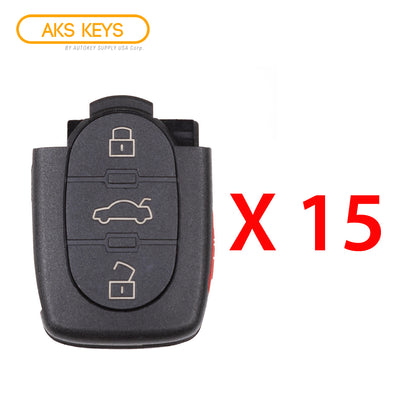 1997 - 2005 Audi Remote Control Part #: 4D0 837 231 E (15 Pack)