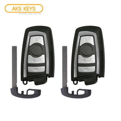 2010 - 2014 BMW Smart Key FCC# YGOHUF5662 (2 Pack)