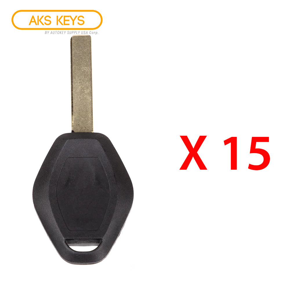 1998 - 2009 BMW Remote Key - EWS - FCC# LX8FZV - 315 Mhz - 2 Track (15 Pack)