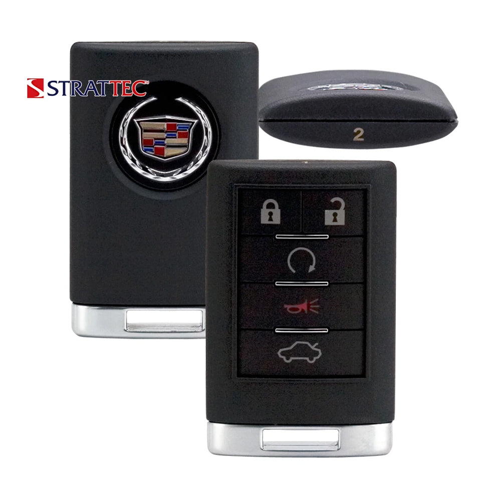 2008 - 2013 Cadillac CTS Remote Control 5B FCC# OUC6000066