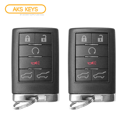 2007- 2014 Cadillac Escalade Remote 6B FCC# OUC6000066 (2 Pack)