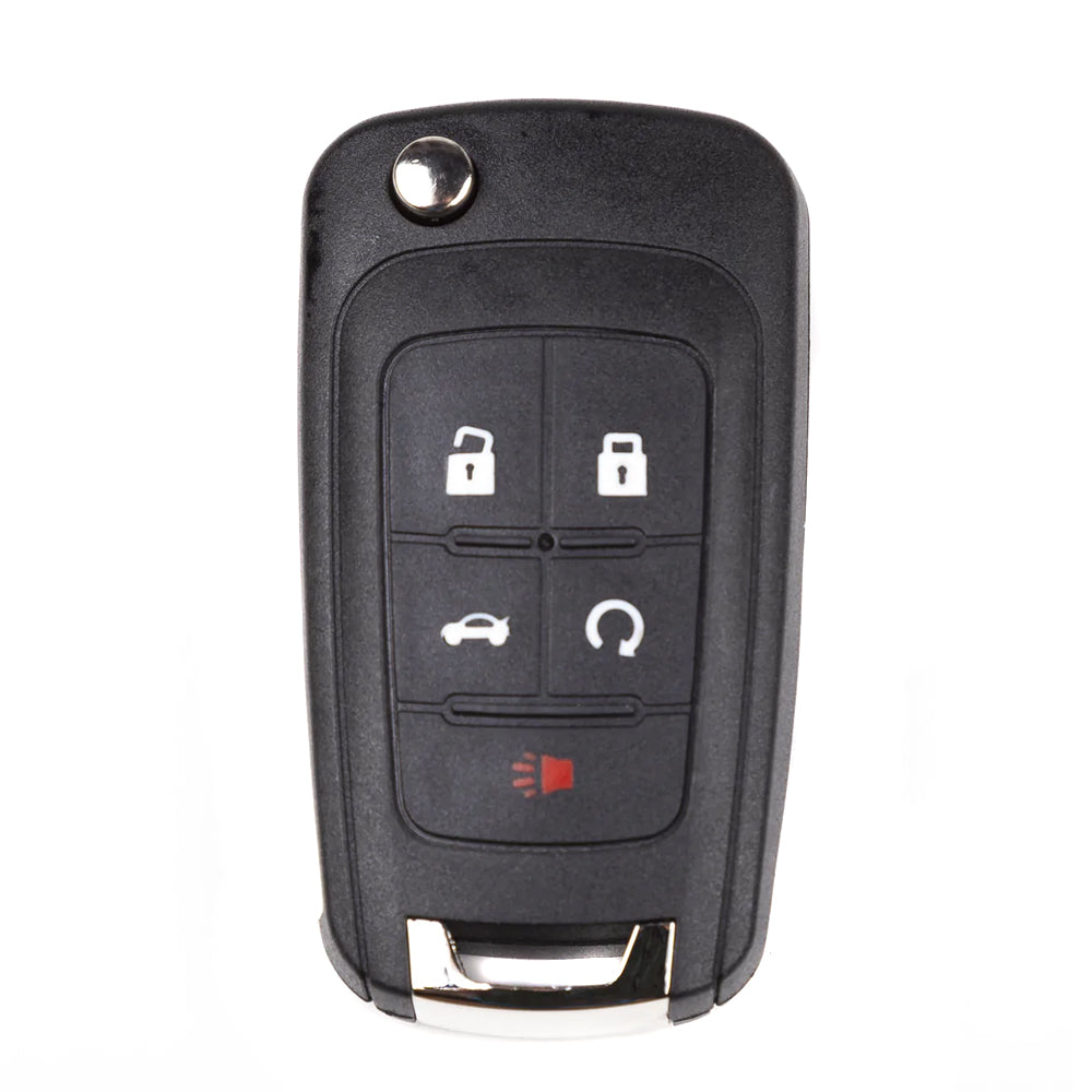 2010 - 2019 Chevrolet Remote Flip Key 5B FCC# OHT01060512