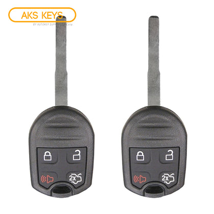2015 - 2019 Ford Fiesta Remote Key 4B FCC# CWTWB1U793 (2 Pack)
