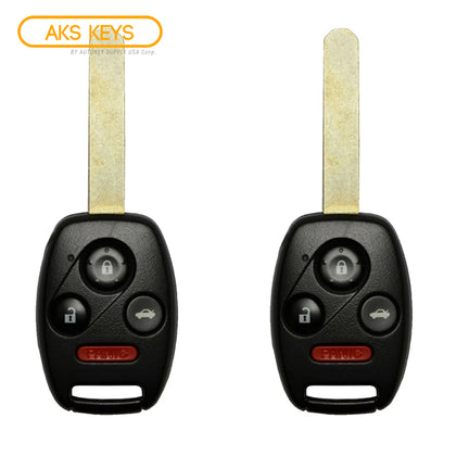 2003 - 2007 Honda Accord Remote Head Key 4B FCC# OUCG8D-380H-A (2 Pack)