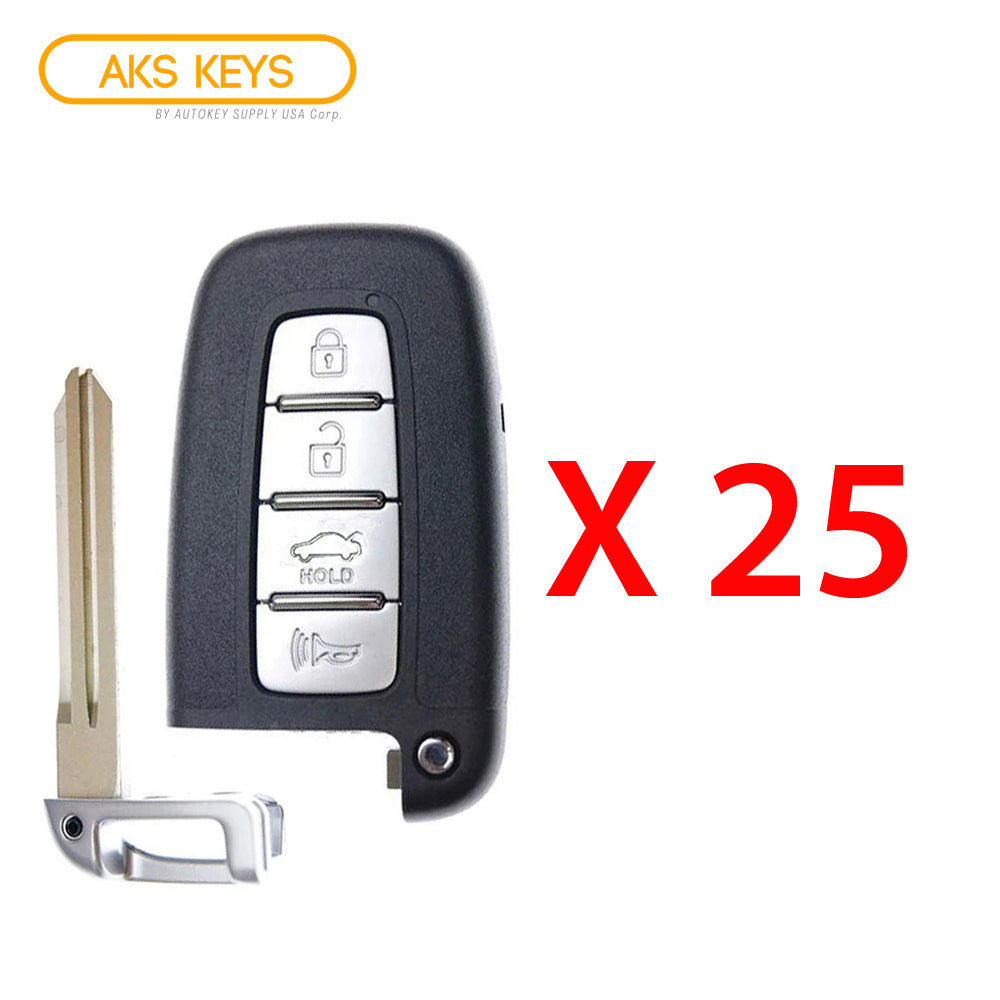 2011 - 2013 Kia Smart Key 4B FCC# SY5HMFNA04 (25 Pack)