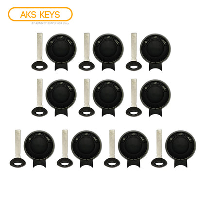 2006 - 2011 Mini Cooper Remote Fobik Key FCC# IYZKEYR5602 (10 Pack)