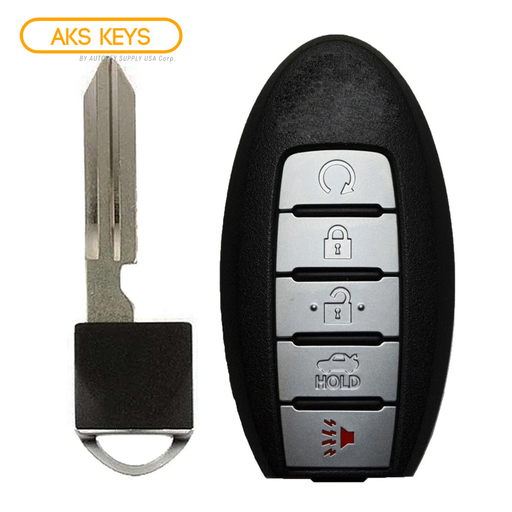2016 - 2018 Nissan Smart Proximity Key w/ Remote Start 5B FCC# KR5S180144014