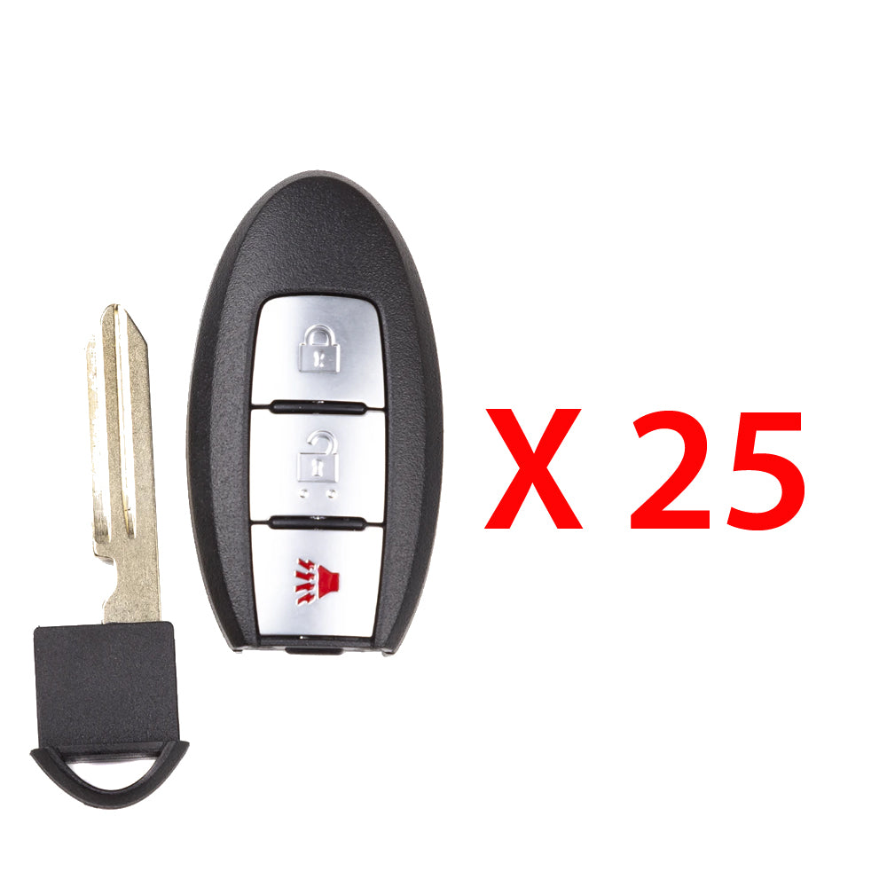 2016 - 2018 Nissan Smart Prox. Key w/ Remote Start 3B FCC# KR5S180144014 (25 Pack)