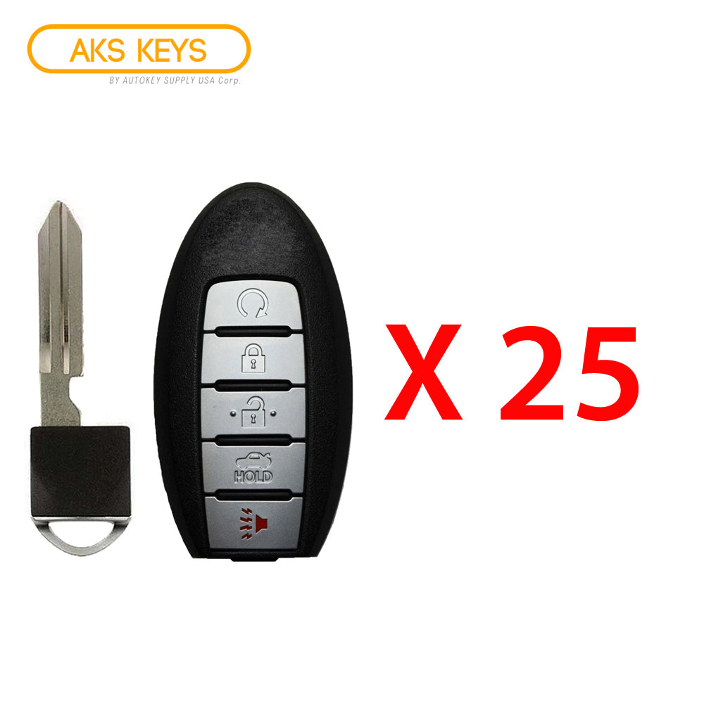 2017 - 2018 Nissan Armada Smart Key 5B  FCC# CWTWB1G744 (25 Pack)