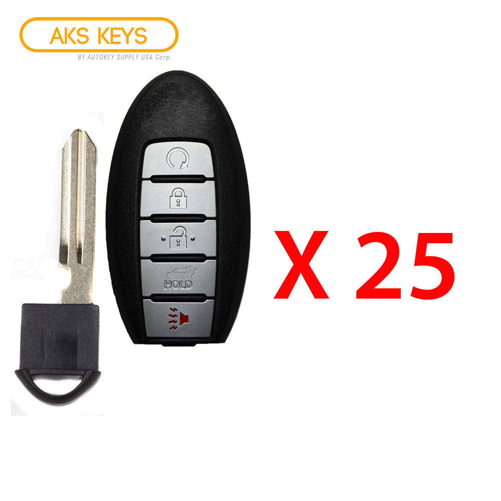 2017 - 2018 Nissan Rogue Prox Smart Key  5B FCC# KR5S180144106 (25 Pack)