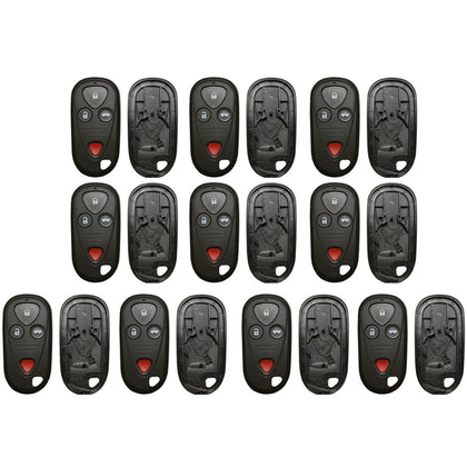 1999 - 2008  Acura Honda Remote Control Shell 4B (10 Pack)