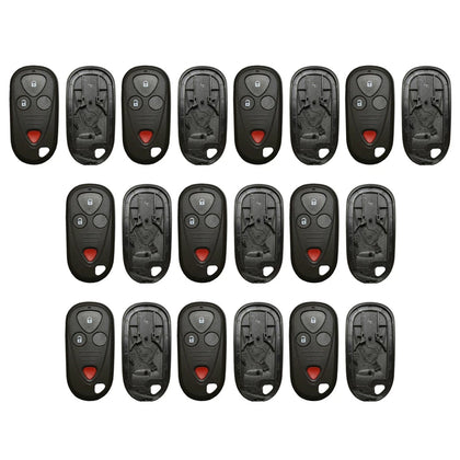 New Replacement Remote Keyless Fob Case Shell 4B for Acura (10 Pack)