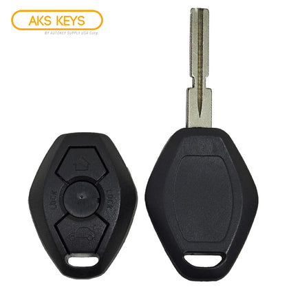 1998 - 2004 BMW Remote Key Shell 3B - 4 Track