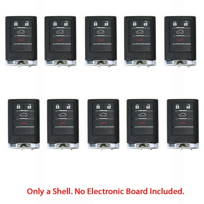2007- 2011 Cadillac CTS Remote Shell 4B (10 Pack)