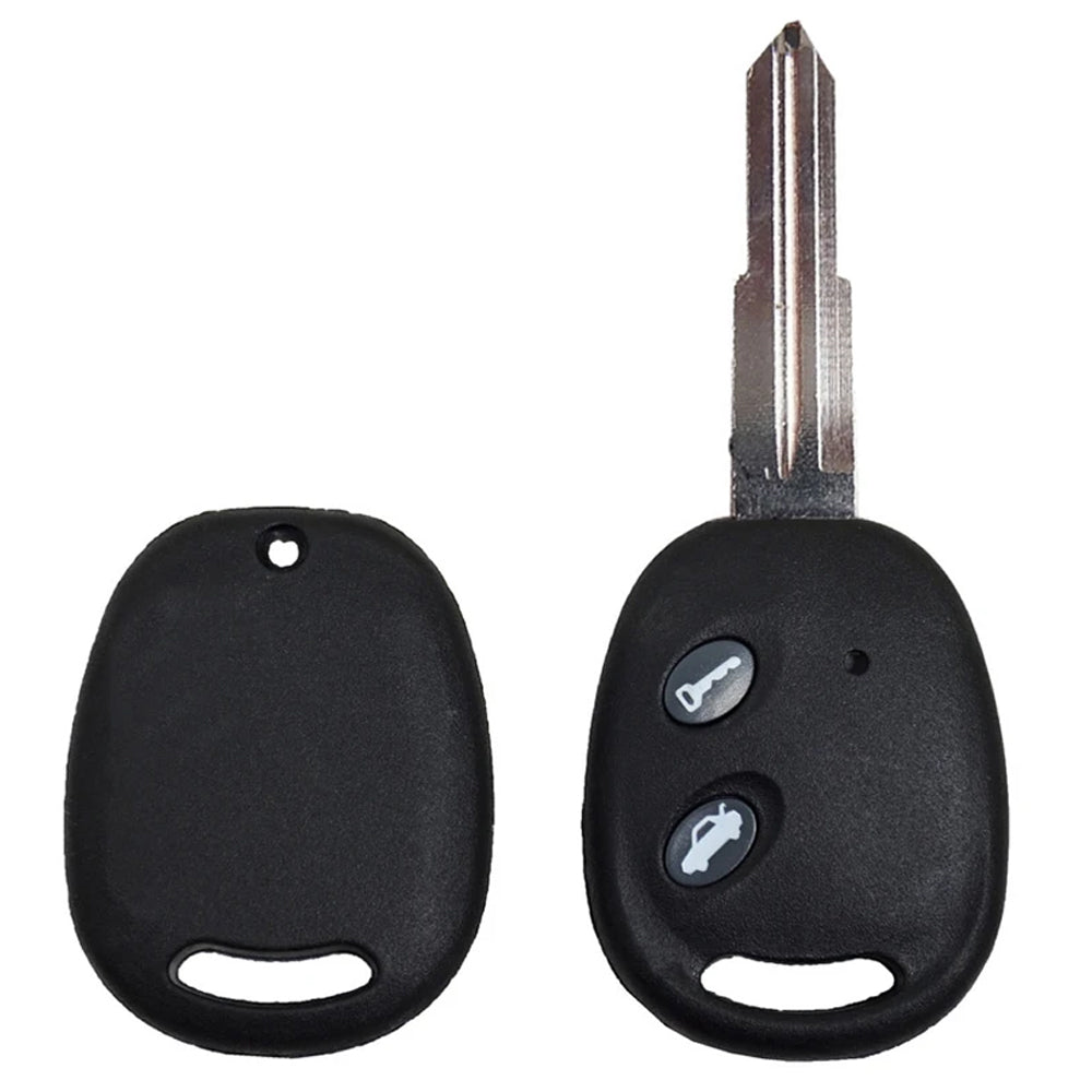 2004 - 2008 Chevrolet Rmote Key Shell 2B DW04RAP