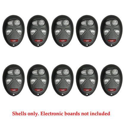 GM Remote Shell Pad 5B for FCC# KOBGT04A (10 Pack)