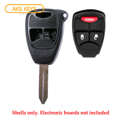 2004 - 2014 Dodge Chrysler Jeep Remote Key Shell 3B SP