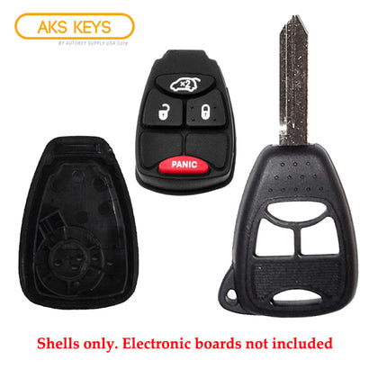 2004 - 2012 Chrysler Dodge Remote Key Shell 4B SP