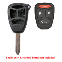 2004 - 2009 Chrysler Jeep Remote Key Shell 4B LP